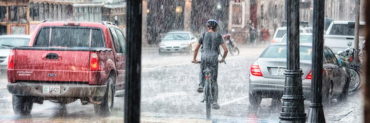 Heavy rain in France. Photo by Genaro Servín from Pexels