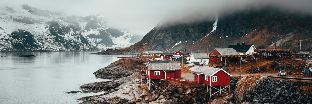 Village in Norway, Photo by Kym Ellis on Unsplash